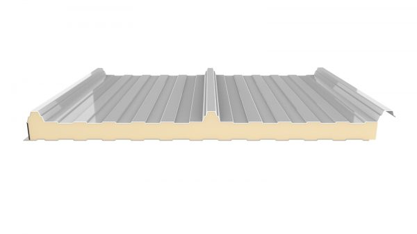 panel sandwich 3 grecas color blanco cubiertas aislantes