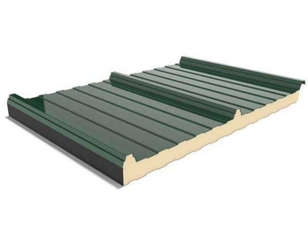 Panel Sandwich 3 grecas precio bajo para cubiertas