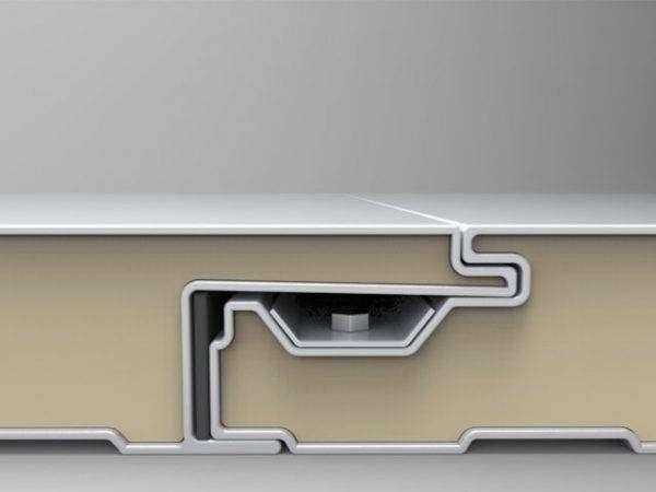 panel sandwich arquitectonico liso arquitectonico