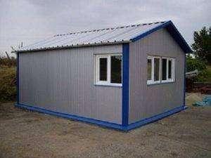 Panel de fachada de tornillería vista para la creación de cobertizos