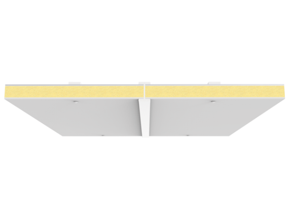 falso techo con poliester y aluminio para fortalecer cubiertas y tejados