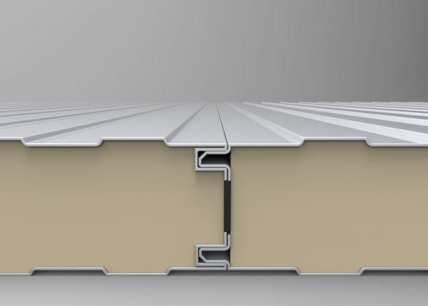 panel sandwich cubierta frigorifica