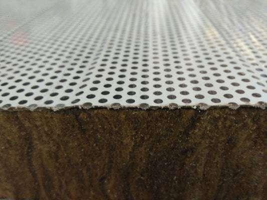 Panel de lana de roca acústico