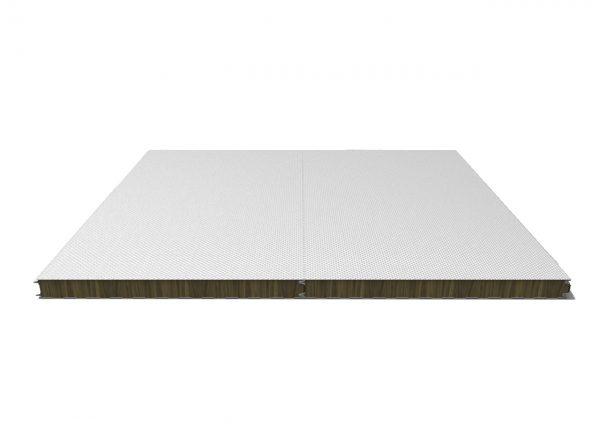 Panel fachada acústica con aislamiento acustica