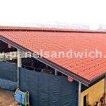 panel sandwich teja precio bajo para construccion de granjas