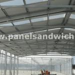 lucernarios ,policarbonato, poliester y traslucidos compatibles con panel sandwich
