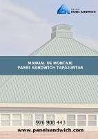 Como instalar paso a paso el Panel Sandwich Tapajuntas