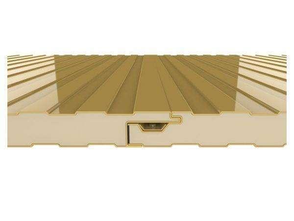 panel sandwich fachada de tornilleria oculta
