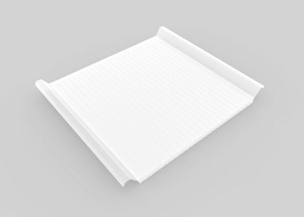 policarbonato para cubierta de panel sandwich para iluminacion y ahorro energetico