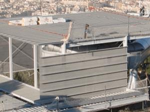 bandejas autoportantes galvanizadas para fachada