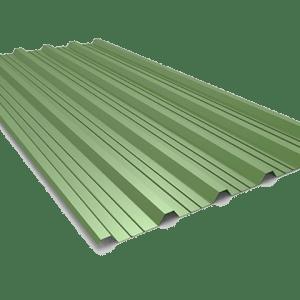 chapa grecada al mejor precio en color verde