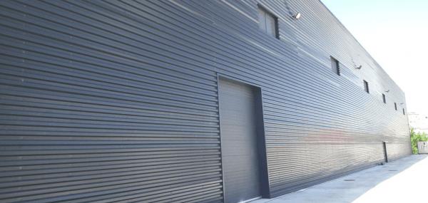 chapas perfiladas para cubierta y fachada