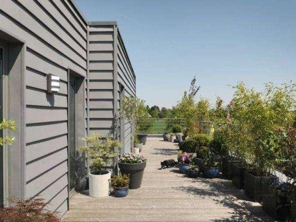 viviendas construidas con perfil ibiza para las fachadas