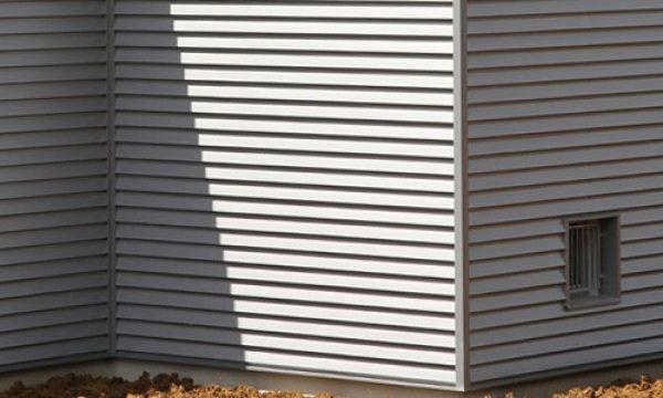 chapa perfil ibiza para fachadas color gris
