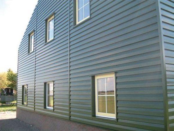 vivienda construida con perfil ibiza