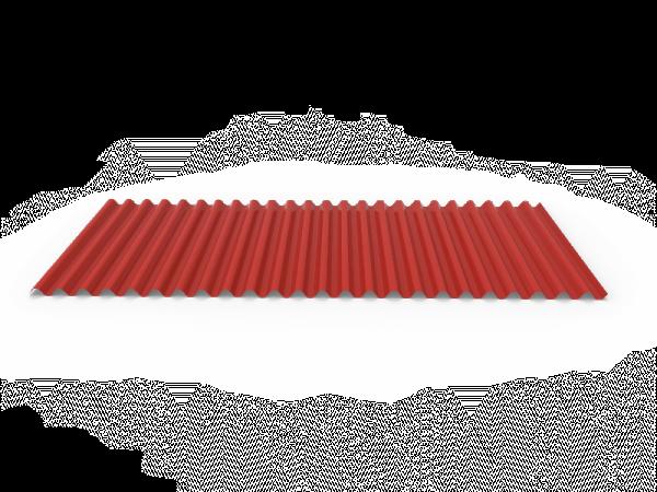 placa ondulada bajo teja de panel sandwich