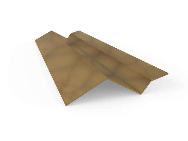 Precio cumbrera a pared albero envejecido panel sandwich - Panel sandwich zaragoza ...