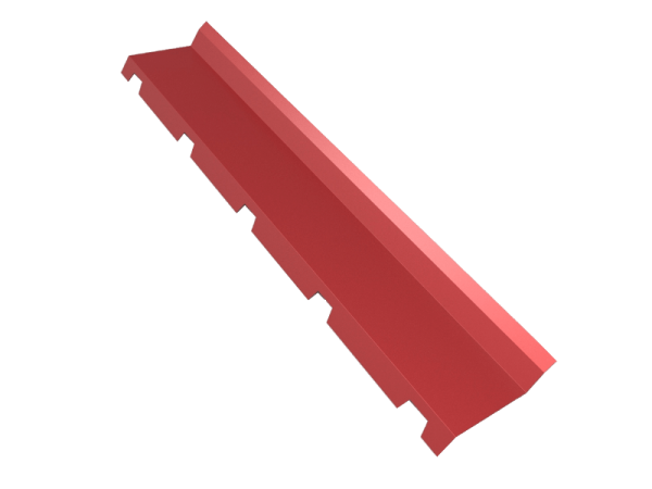 remate cumbrera a pared para panel sandwich cubierta