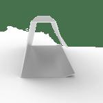 remate de greca vacía metalica para panel y policarbonato