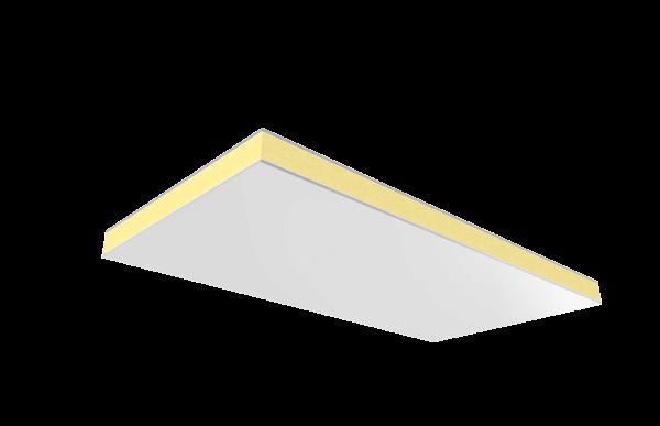 Falso techo con aluminio pural para cubiertas y tejados
