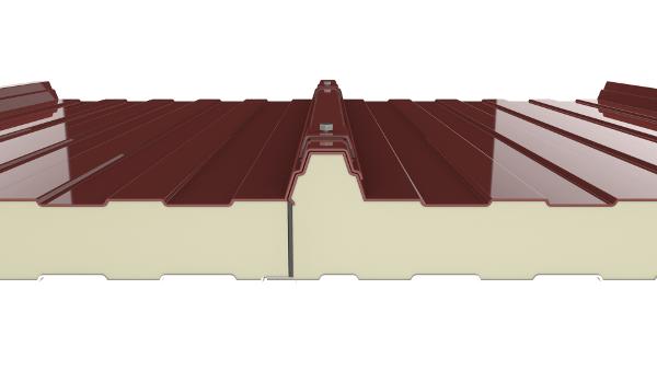sistema de instalacion del panel sandwich 3 grecas