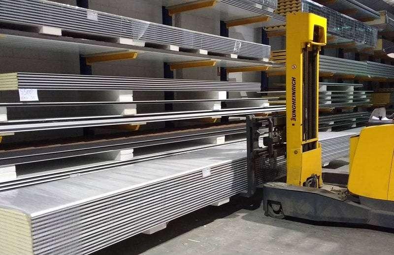 Almacenamiento de los paneles para su correcto mantenimiento