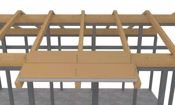 Proceso de instalación de los paneles de madera