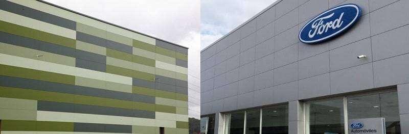 Resultados de obras de clientes nuestros con Panel Fachada Arquitectónico